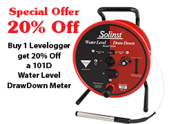 101d water level drawdown meter limited time offer