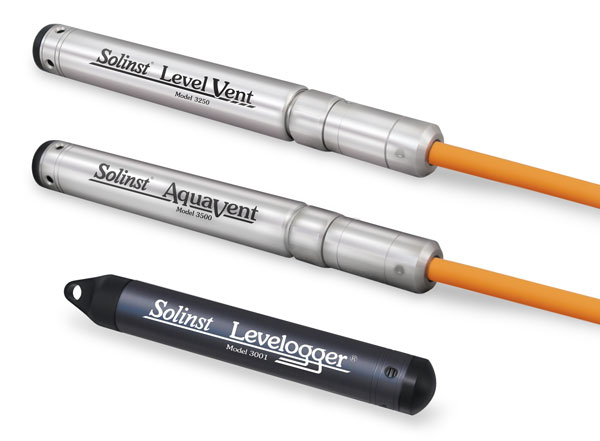 solinst levelogger edge levelvent and aquavent water level dataloggers