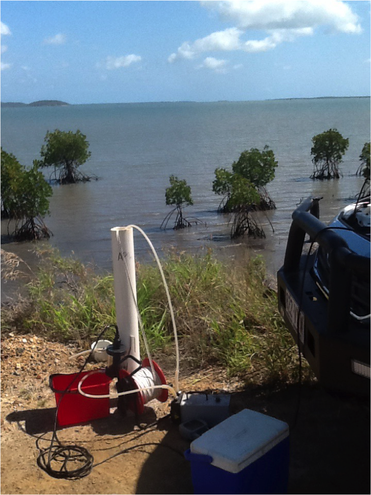 Groundwater Monitoring Well on North East Coast of Queensland