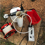 extensive groundwater monitoring program at a refinery in australia