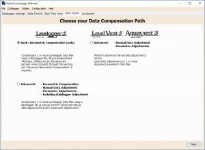 Levelogger Software Data Wizard