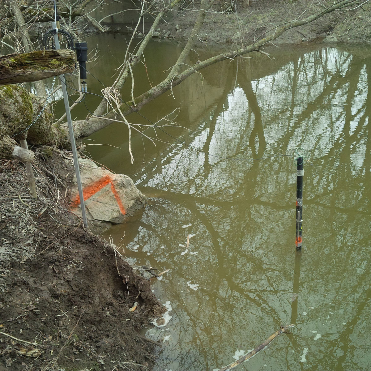 solinst levelsender telemetry system collecting water quality data