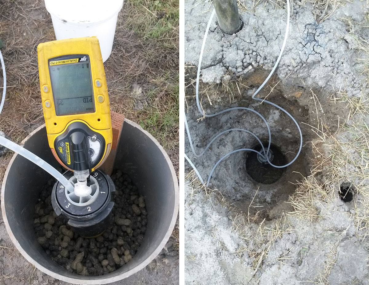 gas analysis and groundwater sampling from solinst cmt groundwater monitoring system