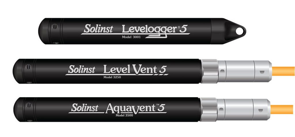 solinst absolute and vented water level dataloggers