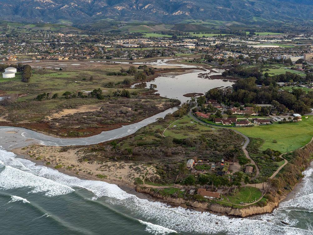 devereaux slough wetland restoration california