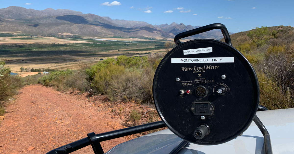 solinst model 102 water level meter used in citrusdal south africa