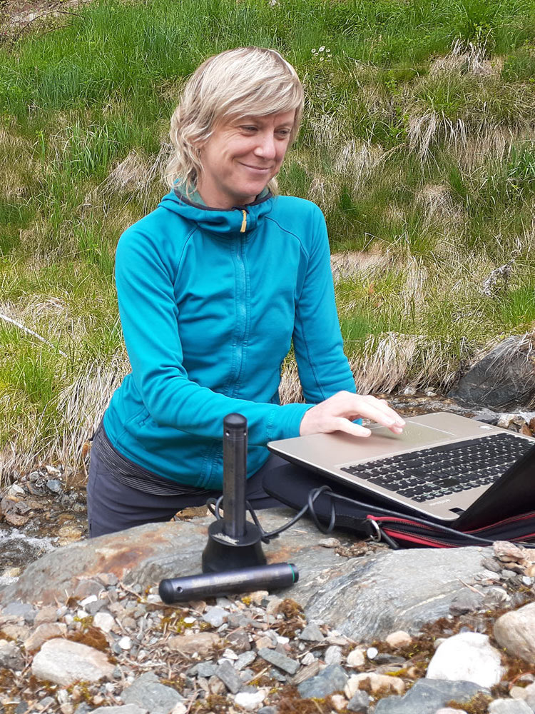 downloading water level data from a solinst levelogger
