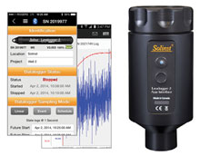 solinst levelogger app interface 5 allows programming and data retreival on your smart device