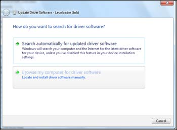 figure 5-12 search for driver software