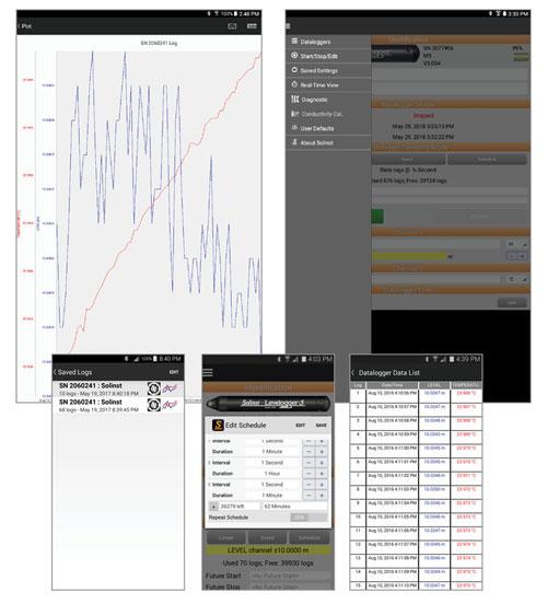 solinst levelogger 5 app screens