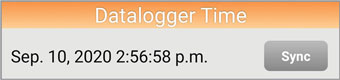 solinst levelogger app datalogger time for android