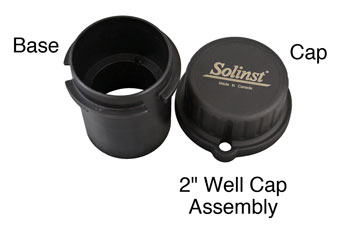 solinst 2 inch locking well caps