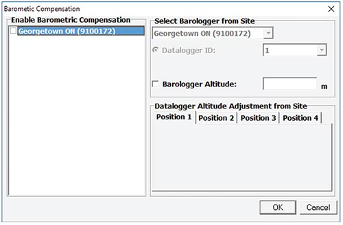 solinst sts edge barometric compensation window