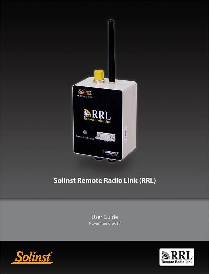 solinst rrl remote monitoring networks remote monitoring for leveloggers rrl user guide image