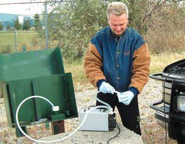 Peristaltic Pumps Designed For Rugged Field Use