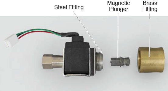 Control unit solenoid valve cleaning instructions psi