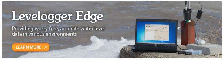 solinst levelogger edge groundwater dataloggers for water level monitoring