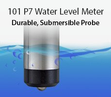 101 p7 water level meter - durable, submersible probe