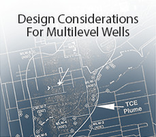 site design considerations for groundwater multilevel well installations